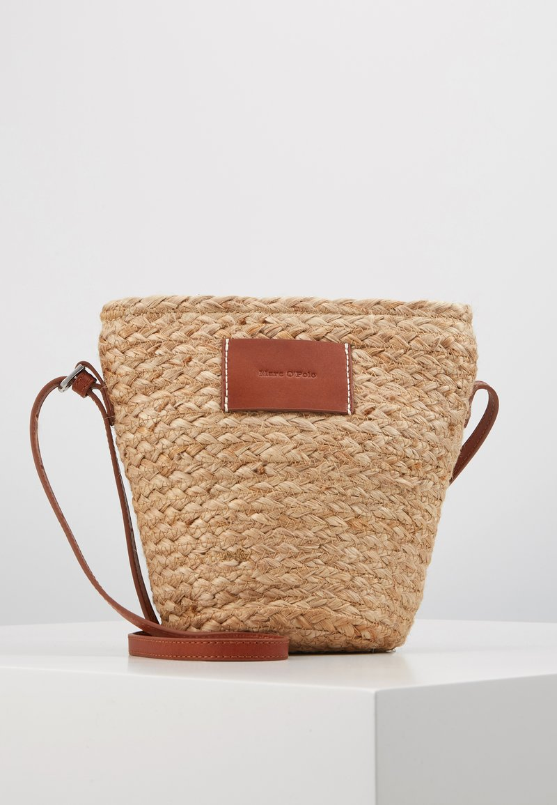 Marc O'Polo - CROSSBODY BAG - Umhängetasche - nature