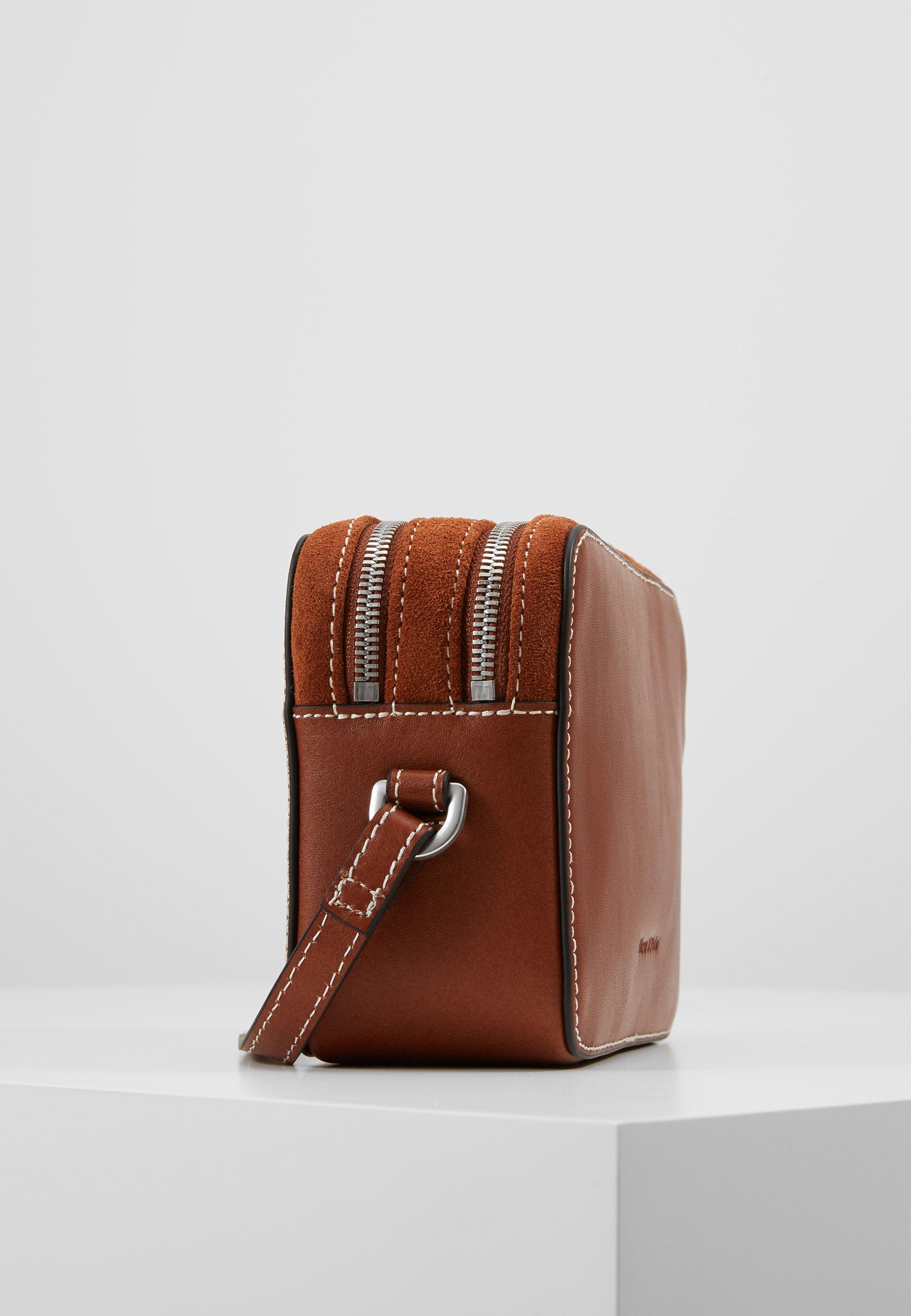 Marc O'polo Crossbody Bag - Sac Bandoulière Authentic Cognac
