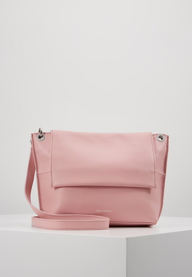 CROSSBODY BAG - Umhängetasche - light pink