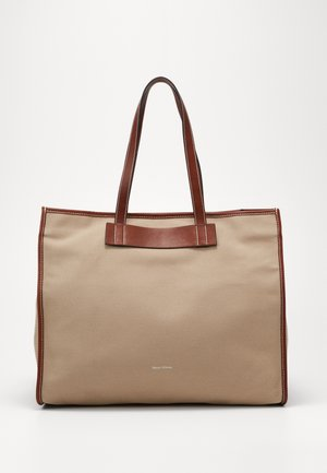 Shopping bag - warm stone