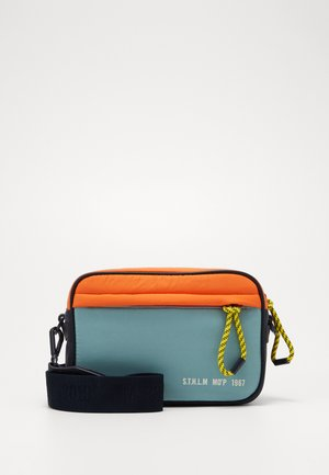 CROSSBODY BAG - Axelremsväska - multicolor/mint