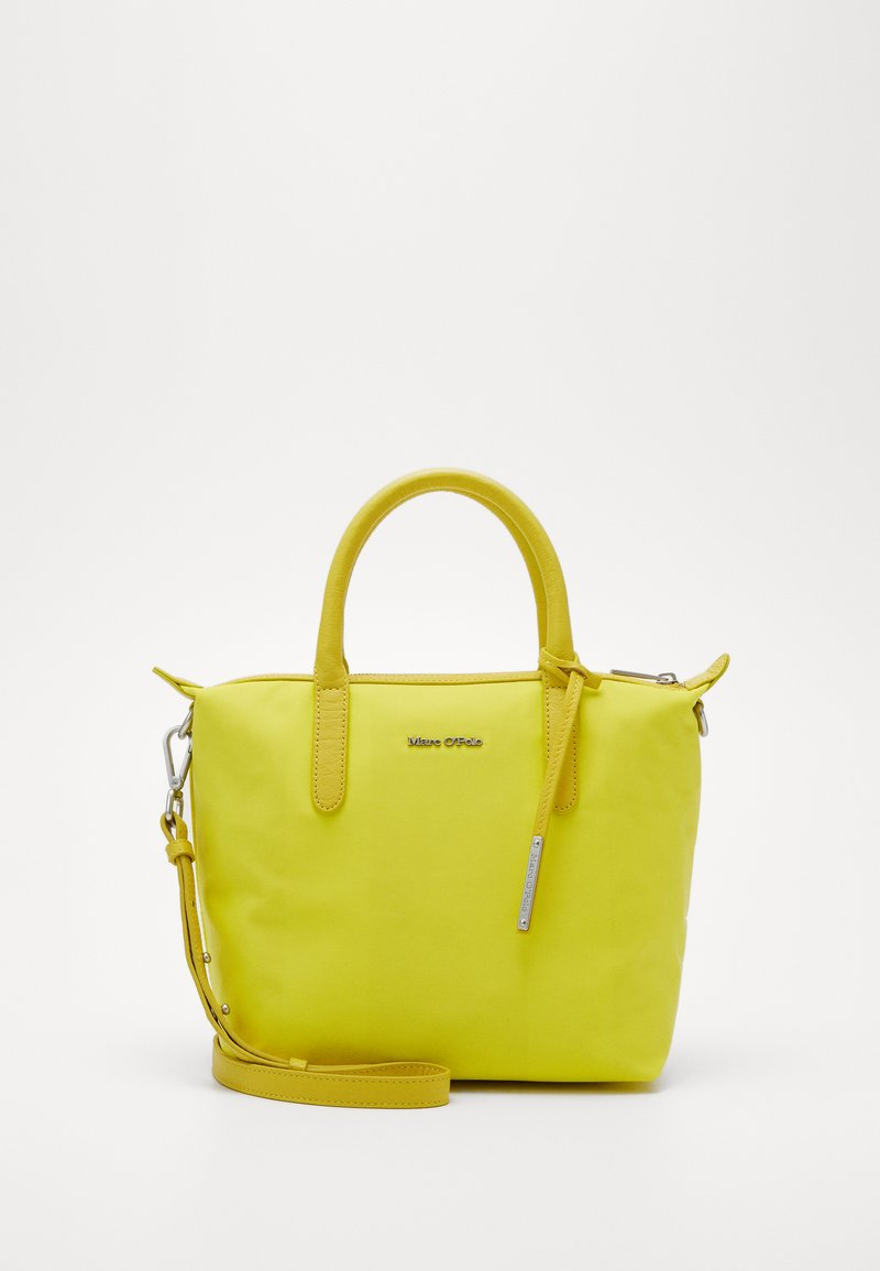 Marc O'Polo - MINI TOTE - Håndveske - juicy lime