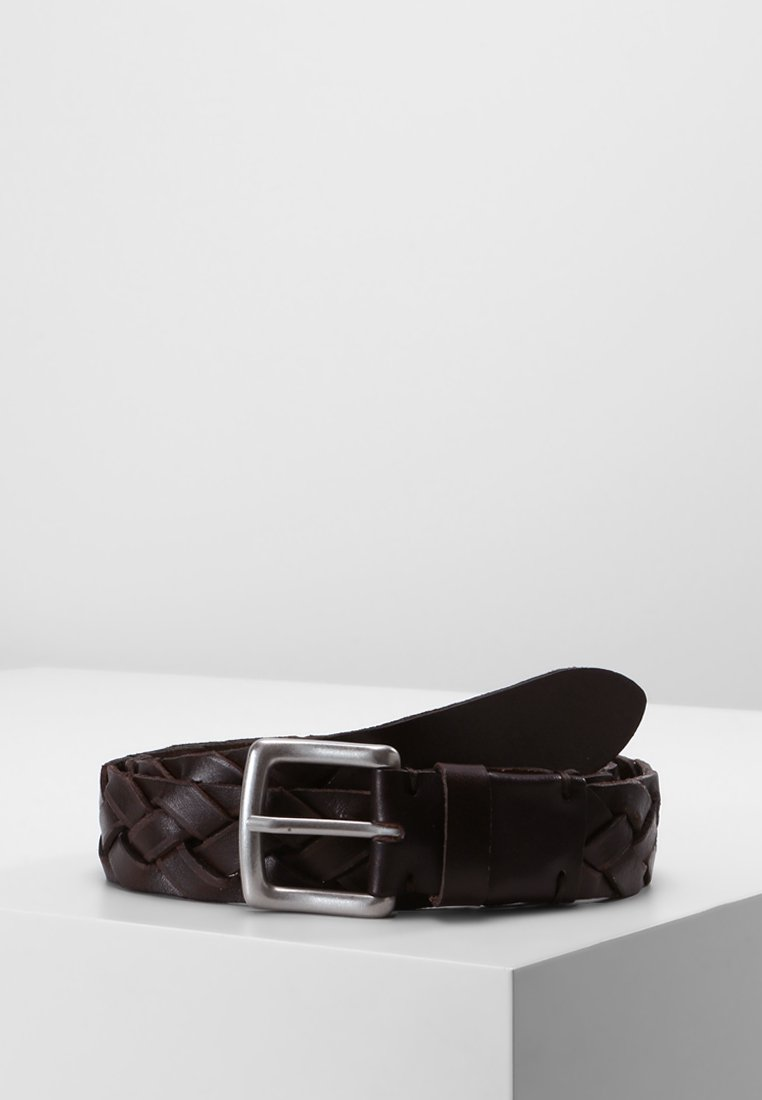 Marc O'Polo - BELT GENTS - Braided belt - brown