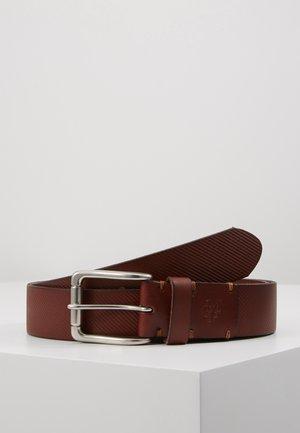 SEAN - Belt - cognac
