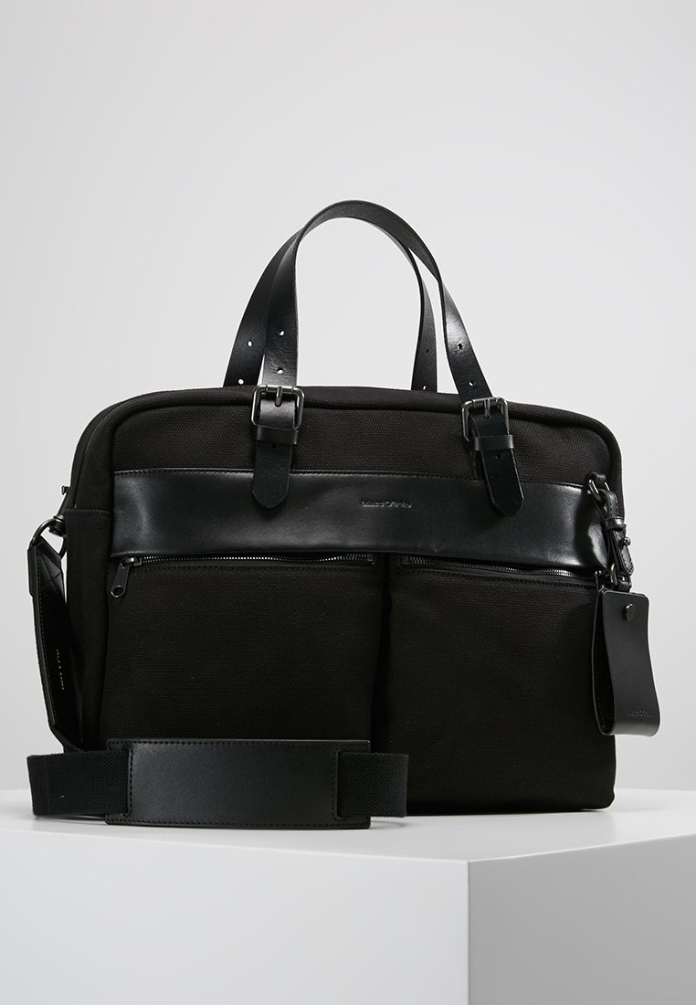 Marc O'Polo - MESSENGER - Aktentasche - black