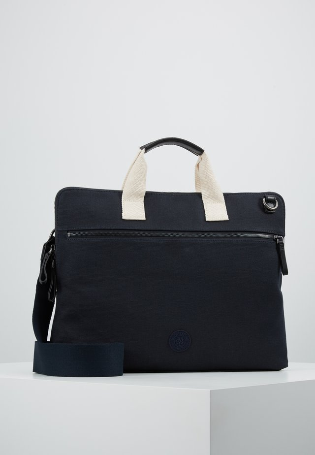 LINUS BUSINESS BAG - Briefcase - navy