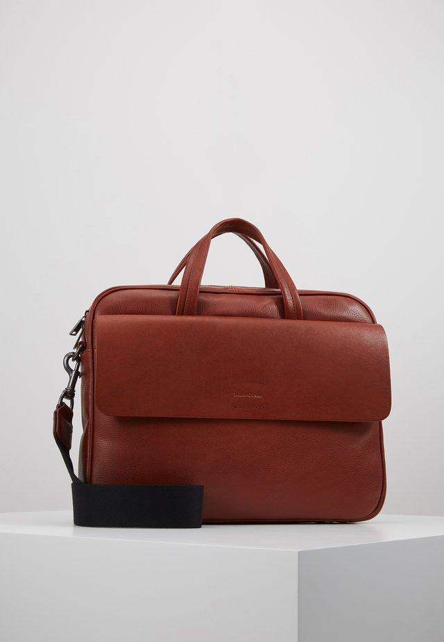 OLIN BUSINESS BAG - Briefcase - burnt cognac