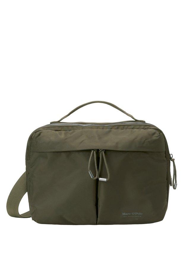 MIT CROSSBODY-SCHULTERGURT - Across body bag - olive