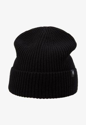 HAT STRUCTURE FOLD UP - Mütze - black