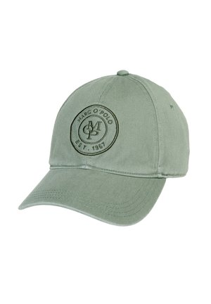 MARC O'POLO CAP MIT LOGO-STICKEREI - Cap - laurel wreath