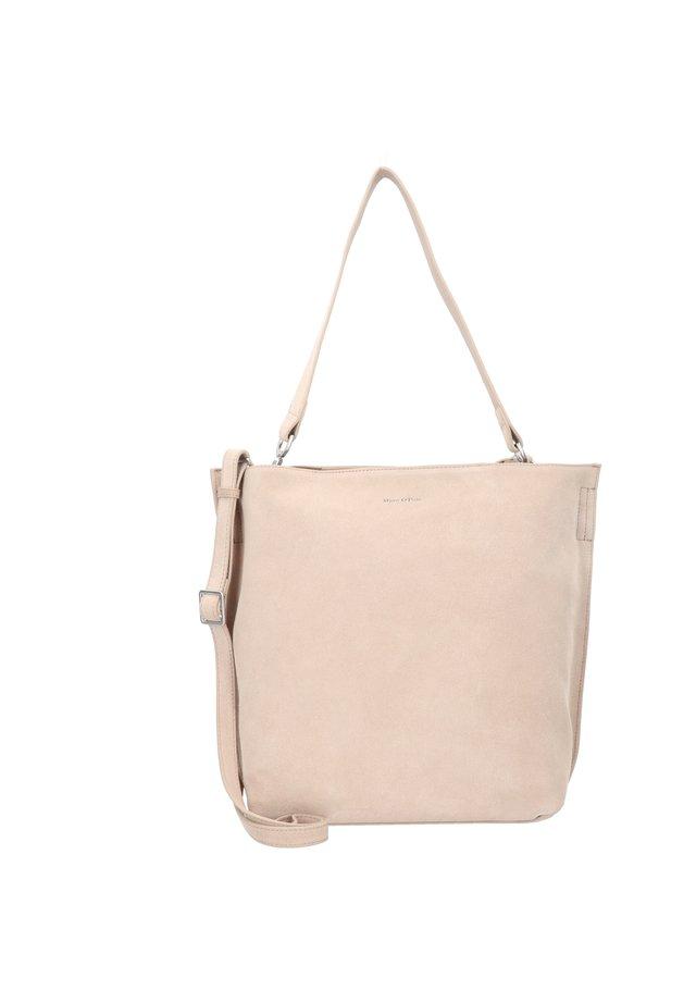 SUNNY SHOPPER TASCHE LEDER 40 CM - Shopping Bag - warm stone