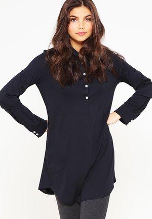 WITH COLLAR - Pyjamashirt - black