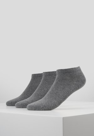 SNEAKER WOMEN 3 PACK - Socken - grey