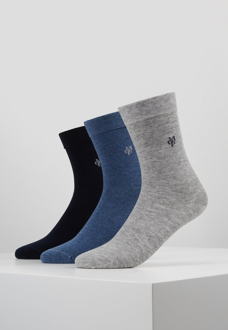Marc O'Polo - 3 PACK - Calcetines - navy