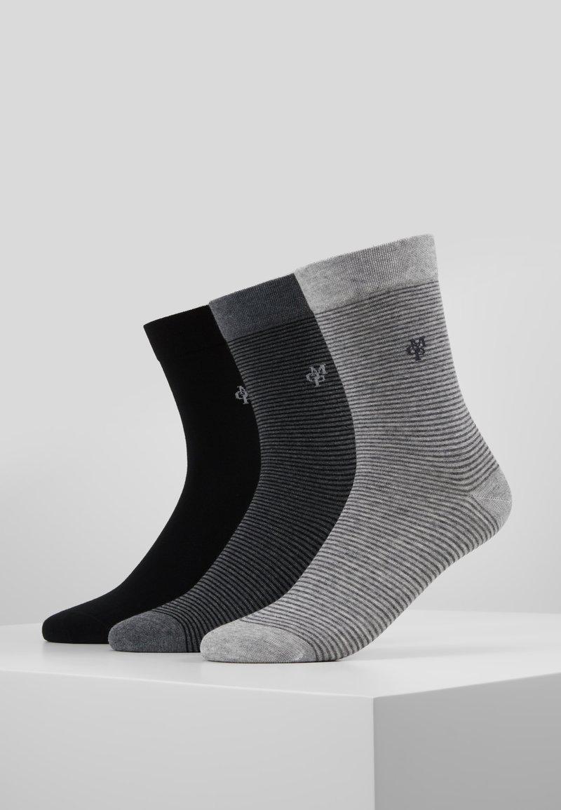 Marc O'Polo - 3 PACK - Socken - schwarz