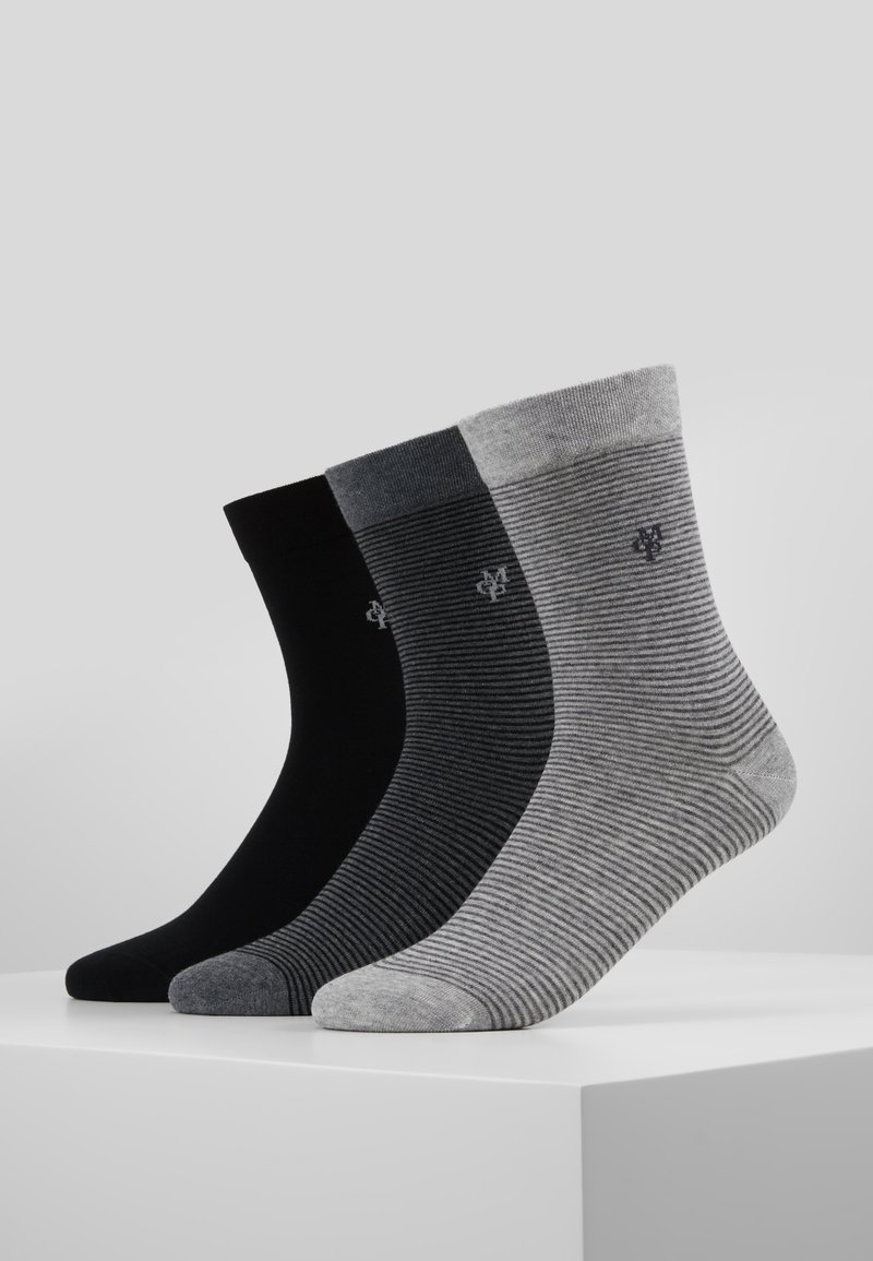 Marc O'Polo - 3 PACK - Calcetines - schwarz