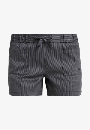 SHORTS - Pyjamasbukse - blauschwarz