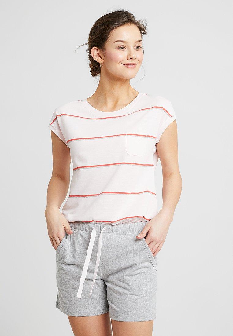 Marc O'Polo - LOUNG CREW NECK SET - Pyjama set - pink