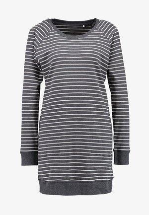 CREW NECK - Noční košile - anthrazit/melange