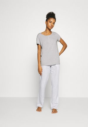 NIGHTWEAR SET - Pyjamas - grau