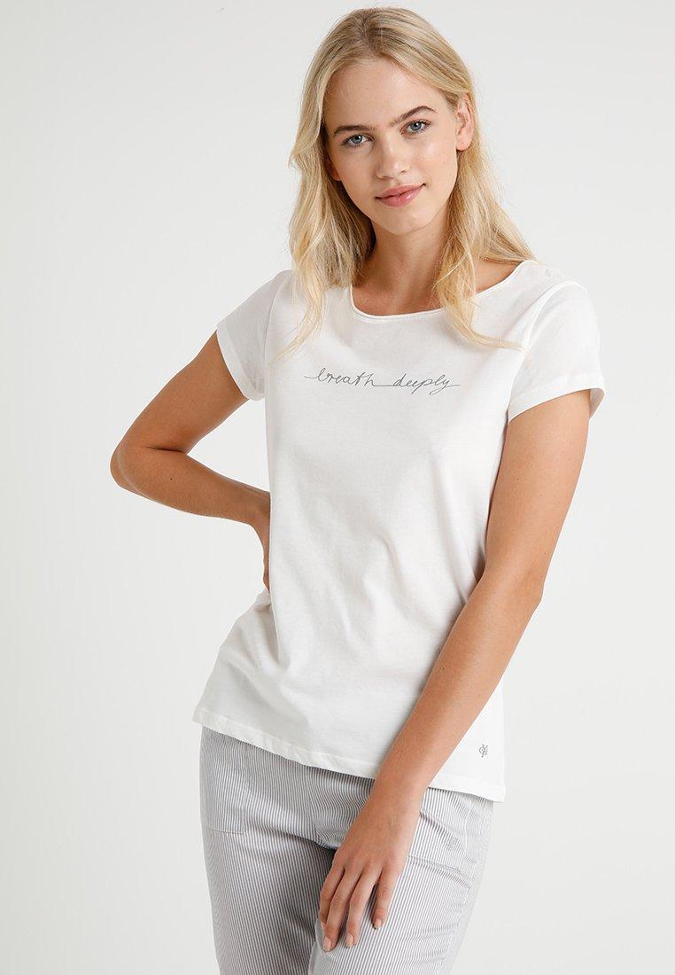 Marc O'Polo - CREW NECK - Pyjamasöverdel - off-white