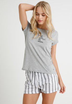 CREW NECK - Koszulka do spania - grey