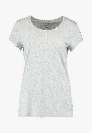 HENLEY - Pyjamashirt - grau-melange