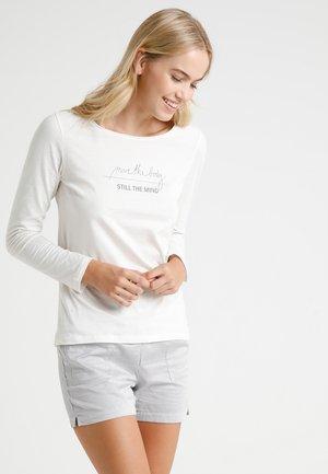 CREW NECK - Pyjamasoverdel - off-white