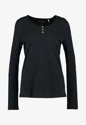 Nattøj trøjer - blauschwarz