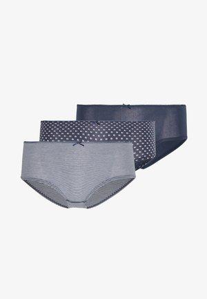 PANTY 3 PACK - Panties - navy