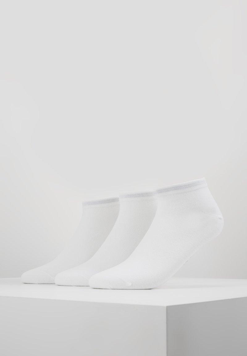 Marc O'Polo - LARSEN SNEAKER 3 PACK - Trainer socks - white
