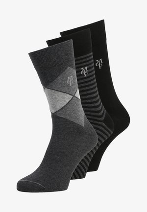 JAN 3 PACK - Sokken - black