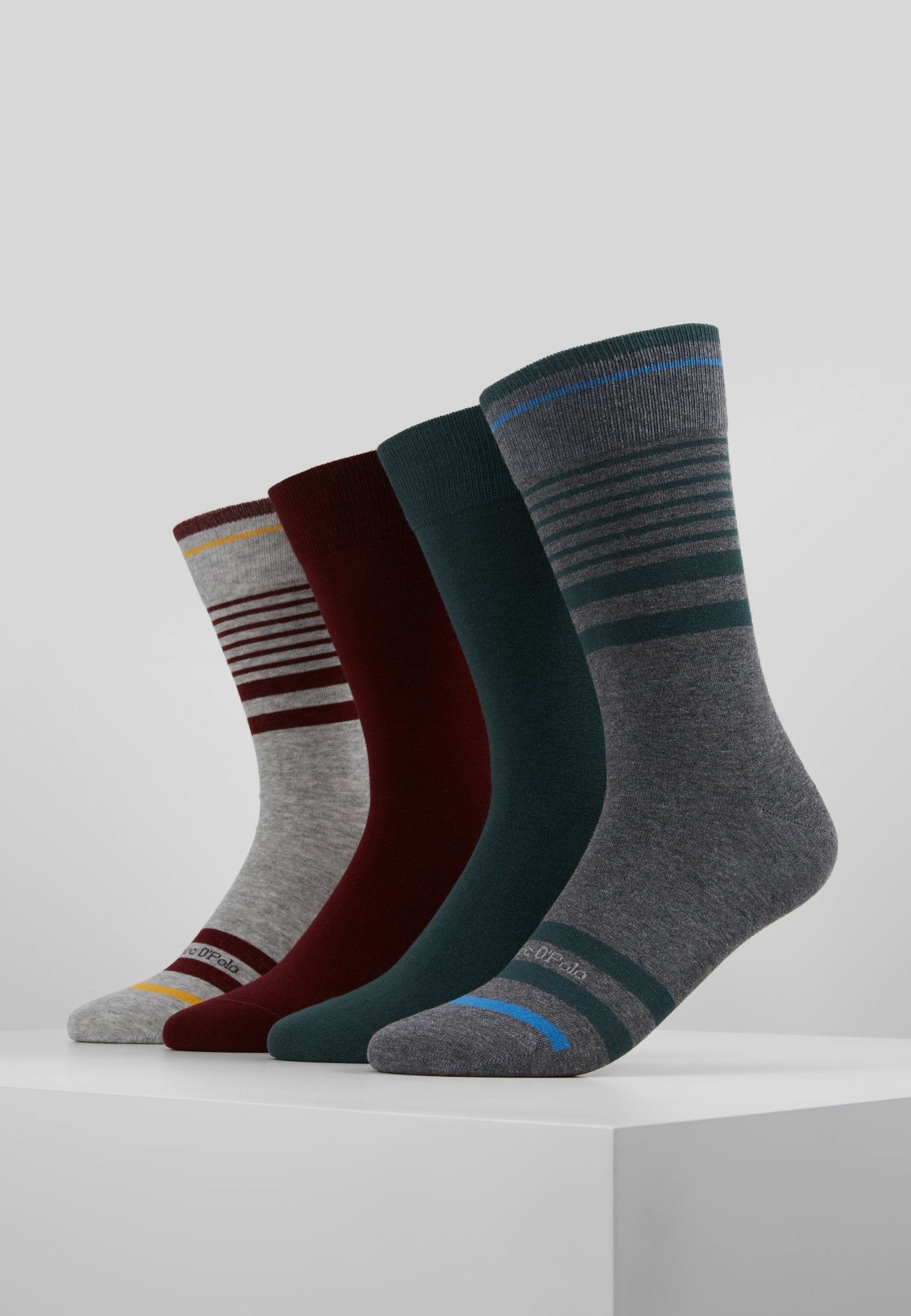 Marc M O'polo green 4packChaussettes Grey red socks srxBQothdC