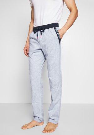 PANTS - Pyjama bottoms - blau meliert