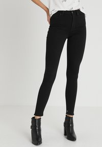 Scotch & Soda - HAUT - Slim fit jeans - stay black - 0