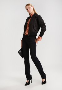 Mavi - OLIVIA - Jeans Straight Leg - double black stretch - 2