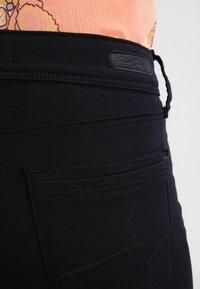 Mavi - OLIVIA - Jeans Straight Leg - double black stretch - 5