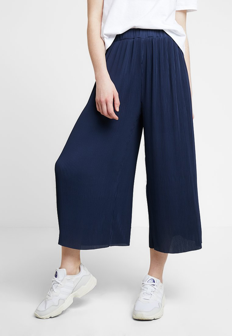 Mavi - PLEATED PANTS - Stoffhose - mood indigo