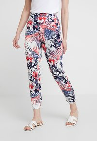 Mavi - ELASTIC WAISTED PANTS - Trousers - hibiscus - 0