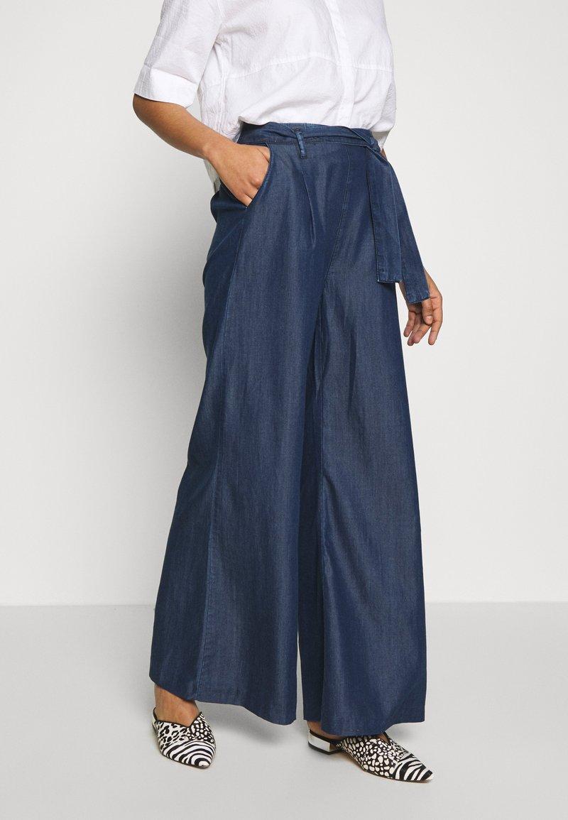 Mavi - FLARE LEG PANTS - Trousers - denim