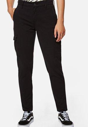 JULIA - Trousers - black