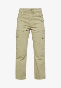 Mavi - CARLY - Trousers - green washed down - 5
