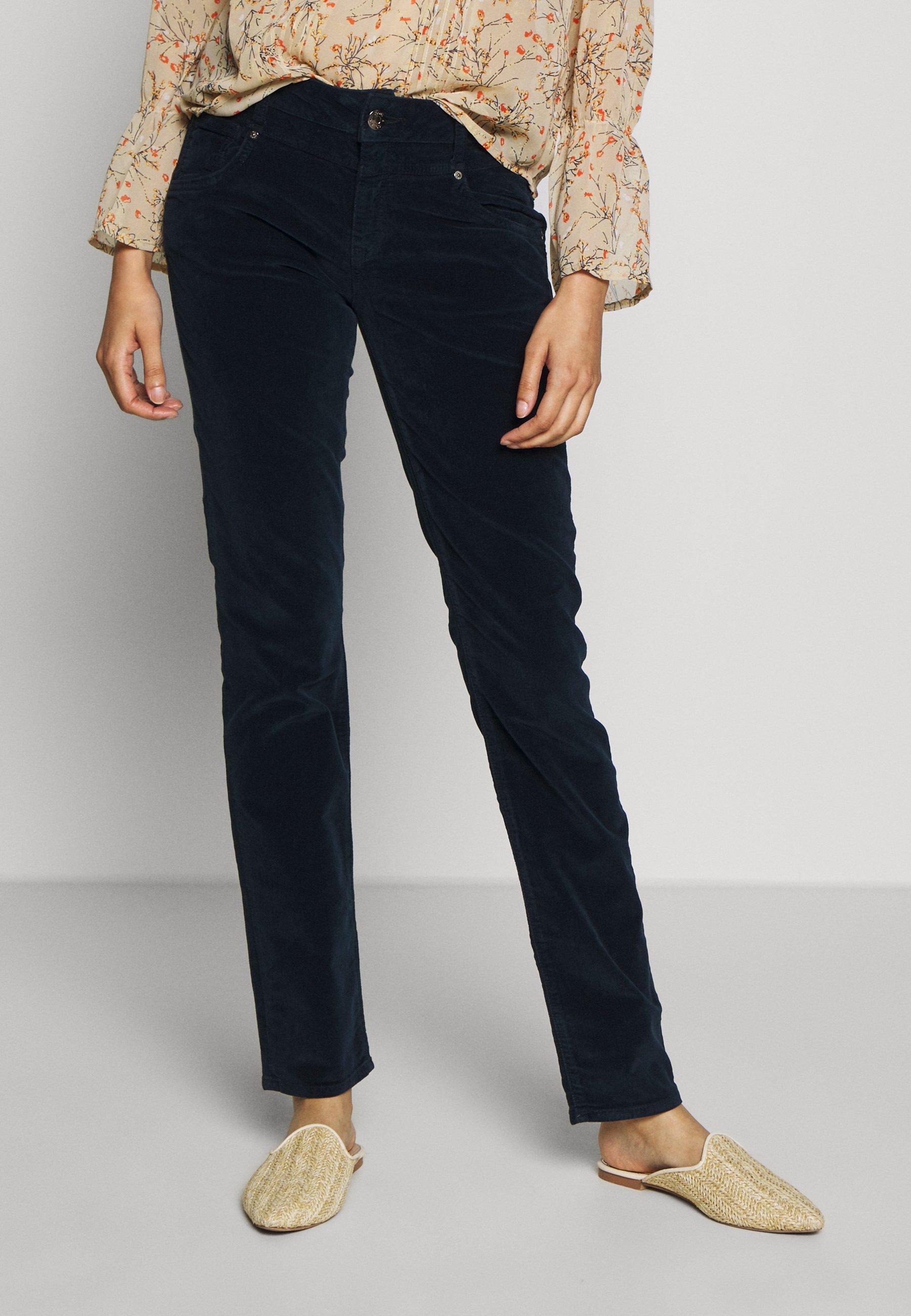 Mavi SOPHIE - Spodnie materiałowe - navy corduroy