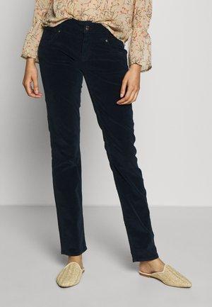 SOPHIE - Pantalon classique - navy corduroy