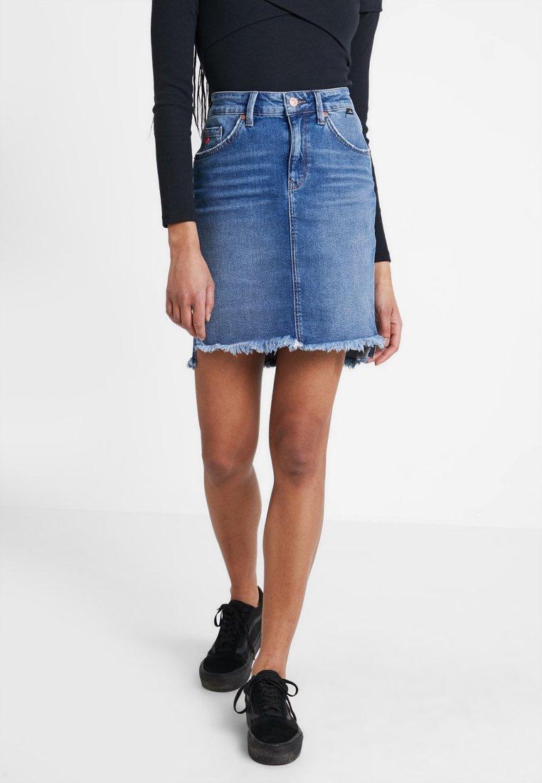 Mavi - MILA - Pencil skirt - blue denim