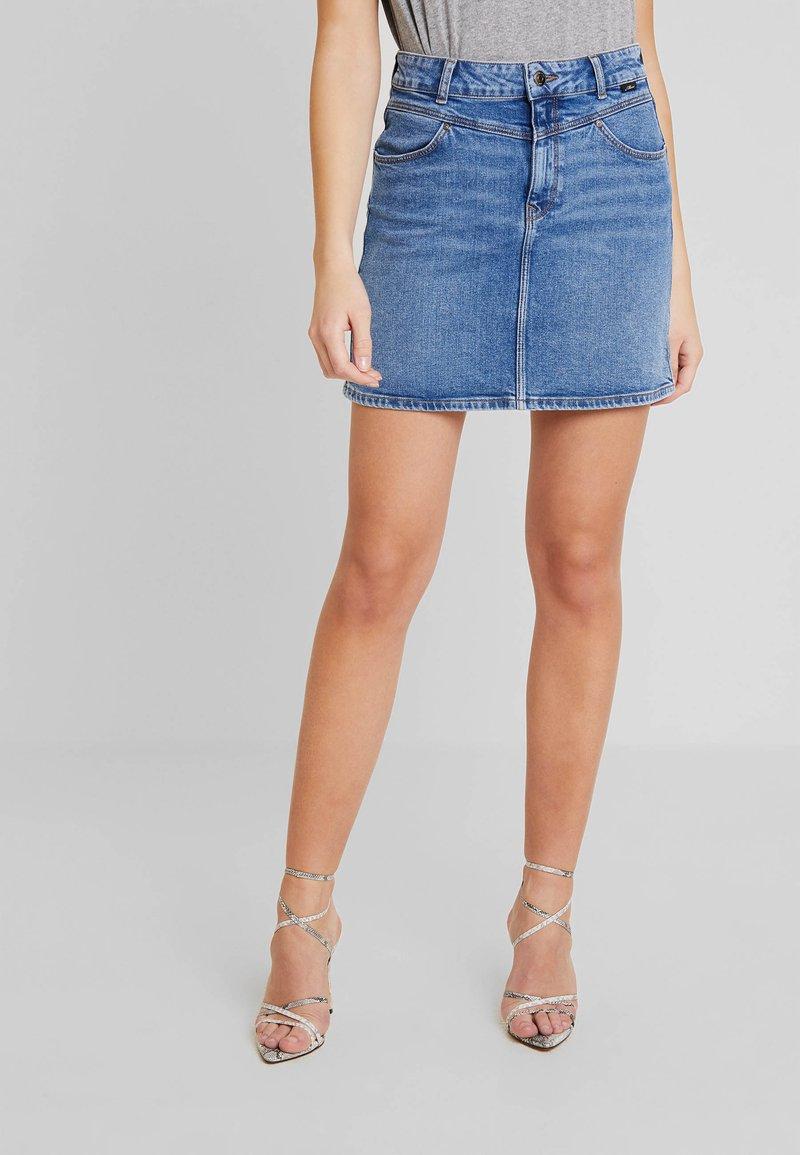 Mavi - ALICE - Denim skirt - dark retro