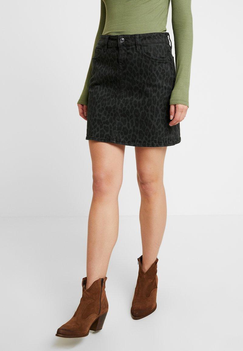 Mavi - ALICE - Denim skirt - smoke leo
