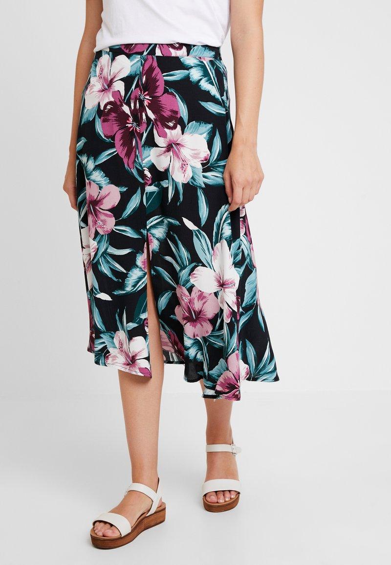 Mavi - PRINTED SKIRT - A-line skirt - black
