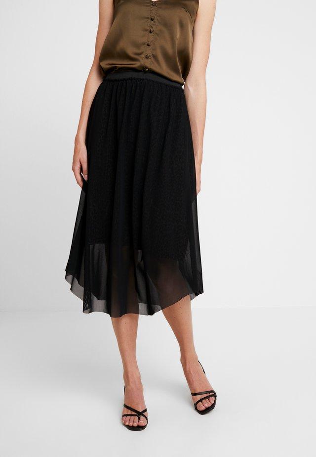 PRINTED SKIRT - A-snit nederdel/ A-formede nederdele - black