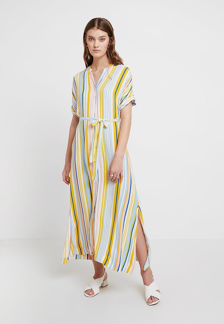 Mavi - STRIPE DRESS - Maxi dress - campanula